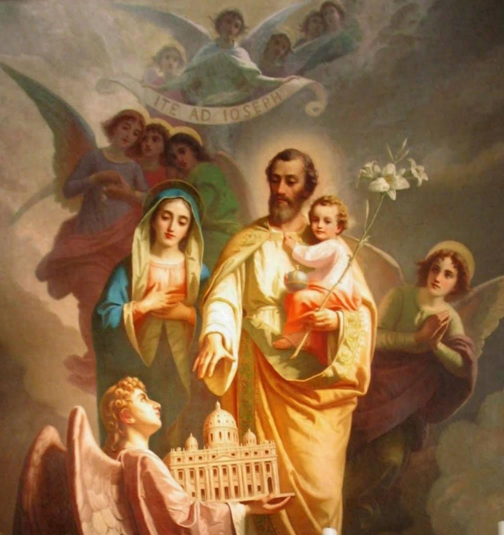 Sveti Jožef je MOGOČNI priprošnjik in zavetnik vesoljne Cerkve in slovenskih dežel